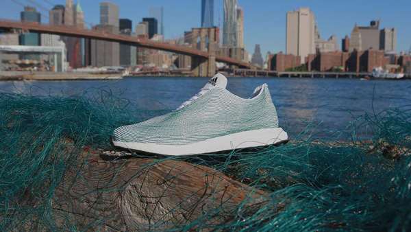 Adidas creates 3D printed trainers from recycled ocean rubbish