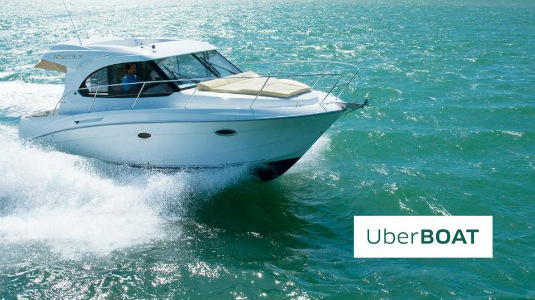 Uber swaps taxis for yachts during Art Basel Miami