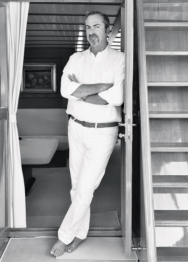 On board with Carlo Traglio, owner of modern classic yacht Ardis II