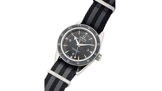 Christie's to auction James Bond's Spectre sailing watch