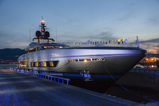 Baglietto Launched a 46m Fast Superyacht