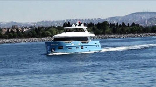 Turkish Yard Mengi-Yay Launched Its 27 Metre Superyacht Seleda