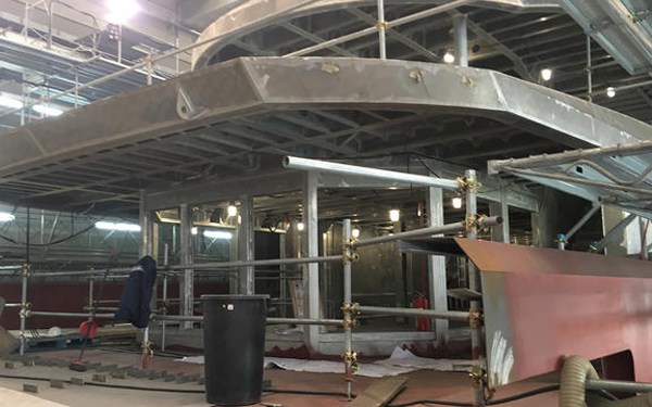 Tankoa Yachts Proceeds With The build on Second S701 Hull