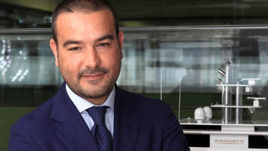 Perini Navi Announced Luca Boldrini New Sales Director of Picchiotti