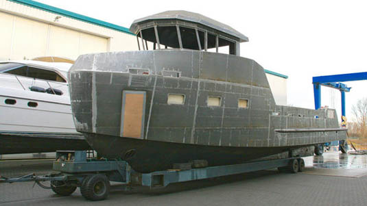 Lynx Yachts Released In-build Pictures of YXT 20 Support Vessel