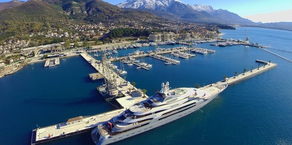 Porto Montenegro Adds New 250m Superyacht Berth