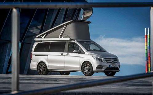 Mercedes-Benz launches luxury campervan