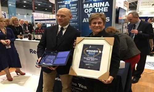 Marina de Vilamoura wins 'International Marina of Distinction' at London Boat Show