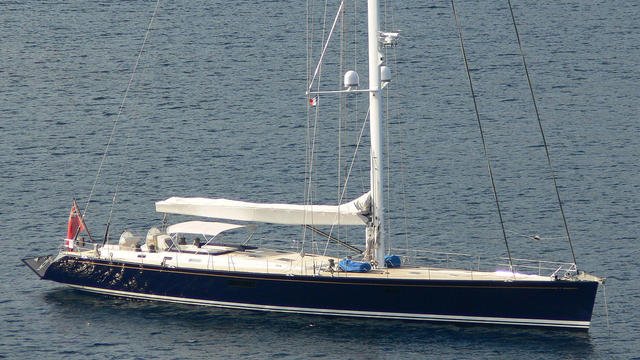 Swan sailing yacht Hoppetosse back on the market