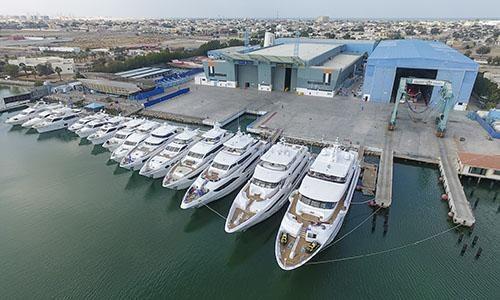 Gulf Craft prepares to display largest fleet at Dubai International Boat Show