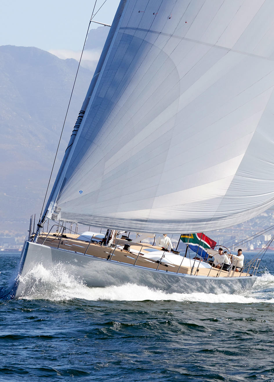 the-bow-of-the-custom-sailing-yacht-allsmoke-by-southern-wind