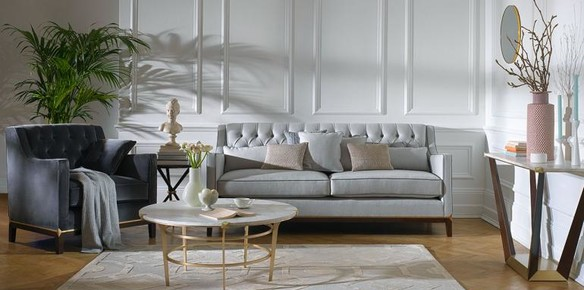 Home Comforts with Harrods' Debut Furniture Collection