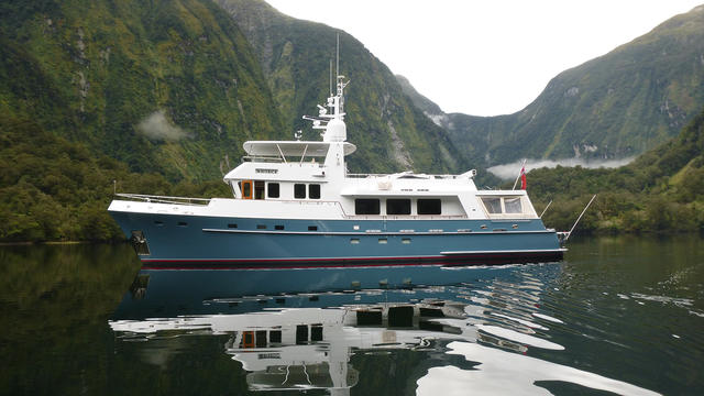 Explorer yacht Maverick back on the market