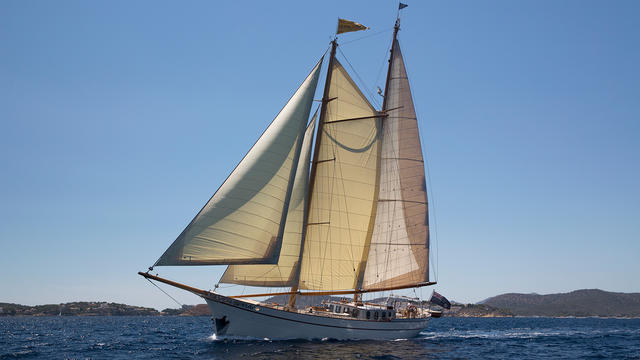 Classic sailing yacht Silver Spray back on the market