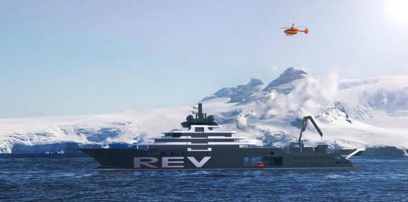 The REV: Building the World's Largest Explorer Yacht