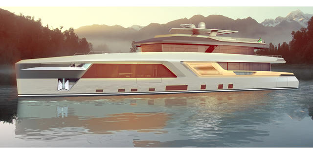 PG Yacht Design teams up with The Design Crew for Alter Ego concept