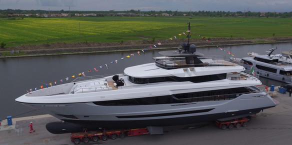 Mangusta Launches the Second Oceano 42 Superyacht