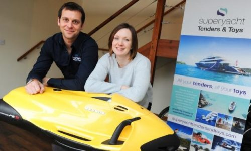 Superyacht Tenders and Toys wins prestigious Queen's Award for Enterprise: International Trade 2017