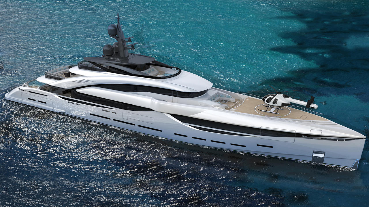 ISA Yachts and Team For Design join forces for GT67 concept