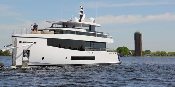 Effortless Cool: Feadship's CID Reaches the Water