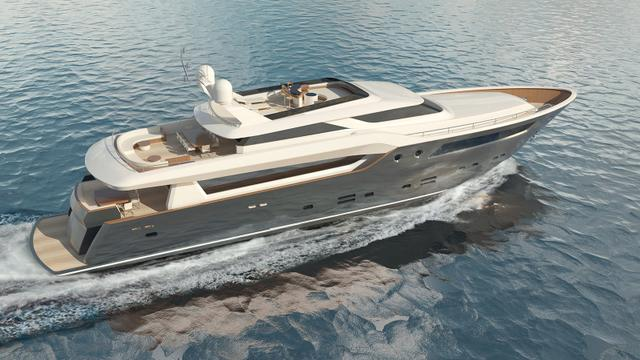 Baltic and Design Unlimited expand motor yacht range with Baltic 135