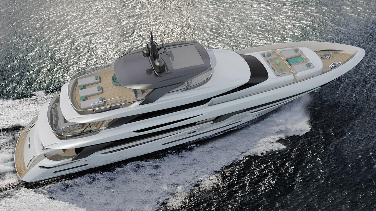 Team For Design reveals new Rossinavi yacht concept T42