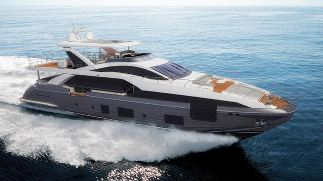 Azimut reveals more details of Grande 27M yacht