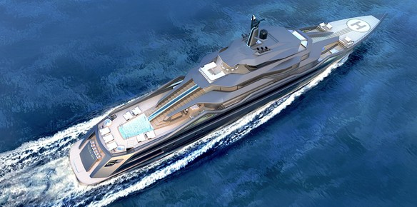 SuperYachtsMonaco Present RC Design 101m Concept