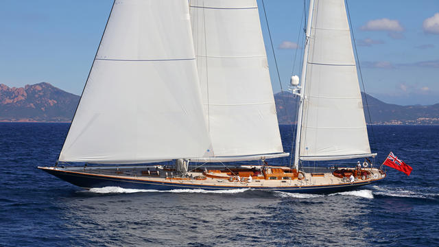 Mefasa sailing yacht Alejandra now for sale with Burgess