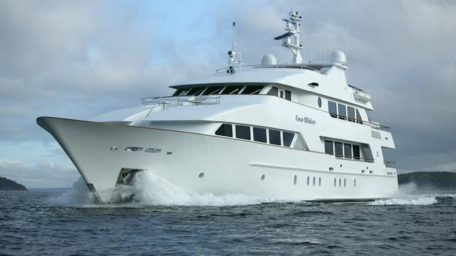 Further $1M price cut on Palmer Johnson motor yacht Four Wishes