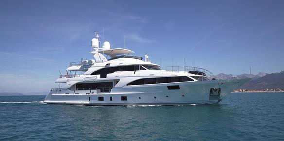 Superyacht in Focus: Benetti's Modern Classic Lady Lilian