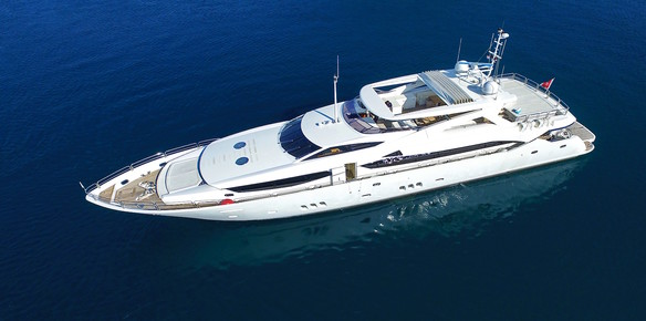On the Market: M/Y IRA Re-Fit and Ready to Fly