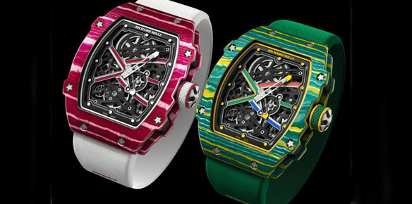 Richard Mille Launches Olympics-Inspired Watches
