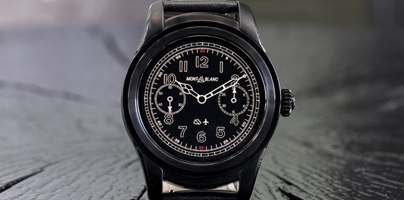 Montblanc Summit Takes Smartwatches to New Heights