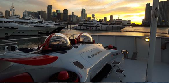 DeepFlight Dragon Teams up with Princess Yachts 40m M Class