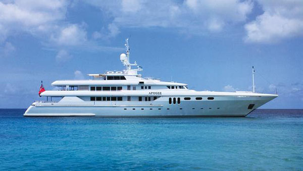 Codecasa motor yacht Apogee now for sale with Merle Wood and TWW