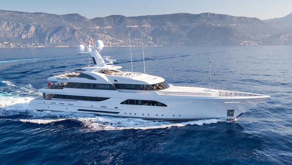 Feadship motor yacht Larisa offered for sale