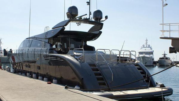 Leopard motor yacht Sea offered for sale