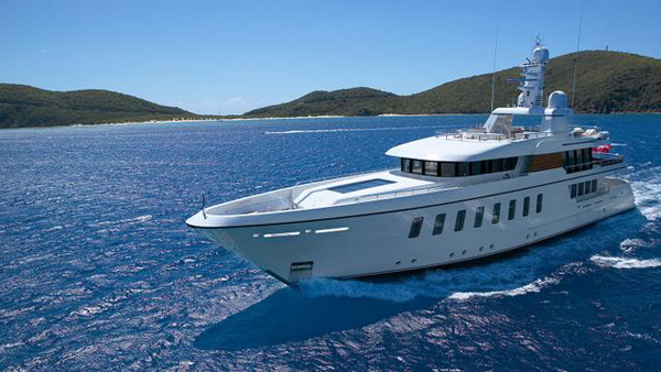 Feadship motor yacht Gladiator now for sale with Edmiston and Camper & Nicholsons