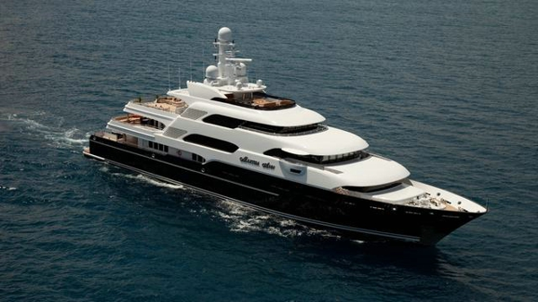 Lürssen motor yacht Martha Ann now for sale with Burgess and IYC