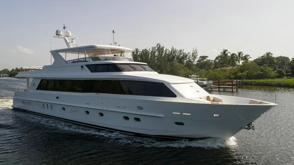 Hargrave motor yacht Cameron Alexander for sale