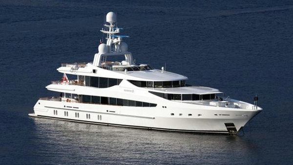 Oceanco motor yacht Sunrise back on the market