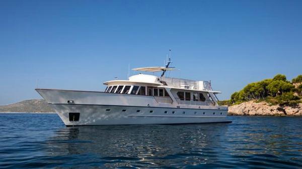Former royal motor yacht Stalca back on the market