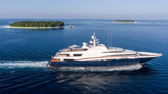 Oceanco motor yacht Anastasia now for sale with Burgess and Fraser