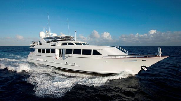 Broward motor yacht Decompression back on the market
