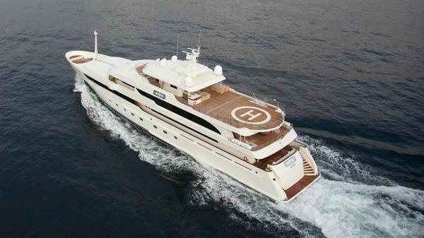 Metalships motor yacht Maybe offered for sale