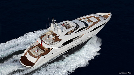 Sunseeker-130 Sport Yacht