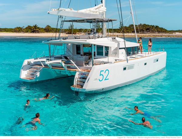 Beneteau sailing boats-lagoon 52