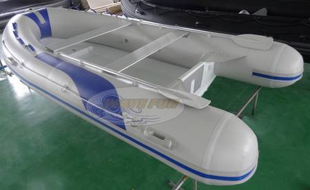 Aluminum hull RIB boat - ARIB-420G